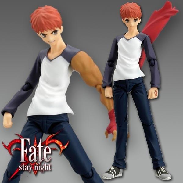 Fate/stay night: Shirou Emiya Normal clothes ver. - Figma