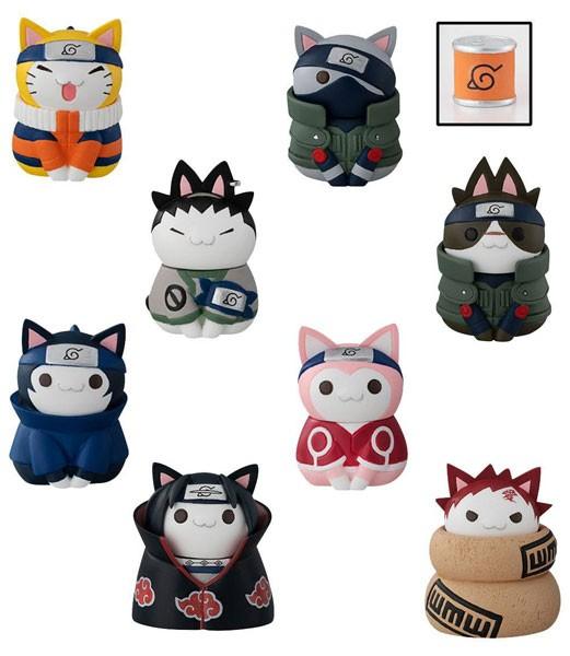 Naruto Shippuden: Nyaruto! Cats of Konoha Village Sammelfiguren Sortiment (8) Limited Set