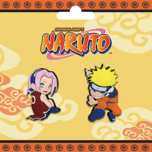 Pin Set Naruto & Sakura