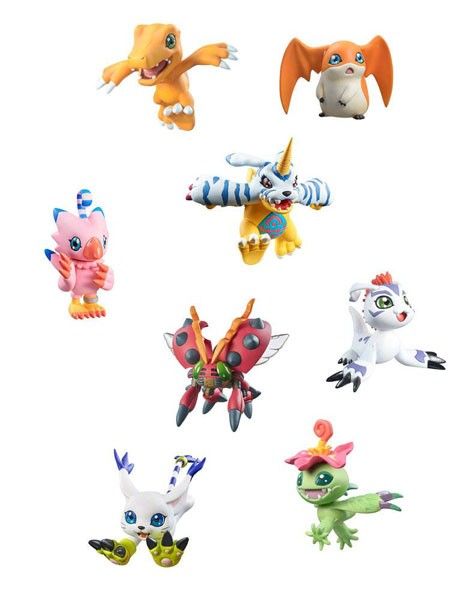 Digimon Adventure: Digicolle! Sammelfiguren Sortiment (8) Special Edition