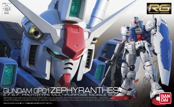 Gundam 0083 - RG RX-78GP01 Gundam GP01 Zephyranthes 1/144
