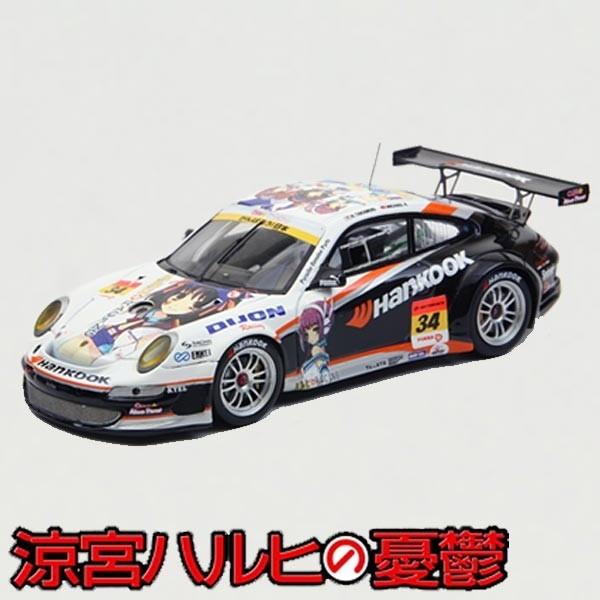 Suzumiya Haruhi: Haruhi Racing Hankock Porsche S-GT300 2011 Suzuka #34 2011 1/43 Model