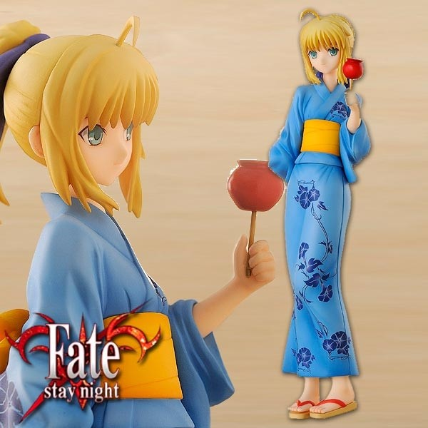 Fate/stay night: Saber Yukata Ver. 1/8 Scale PVC Statue
