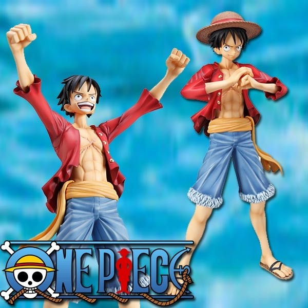 One Piece: P.O.P. Ruffy Sailing Again 1/8 Scale PVC Statue