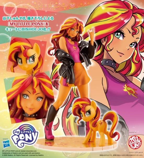 Mein kleines Pony: Bishoujo Sunset Shimmer 1/7 Scale PVC Statue