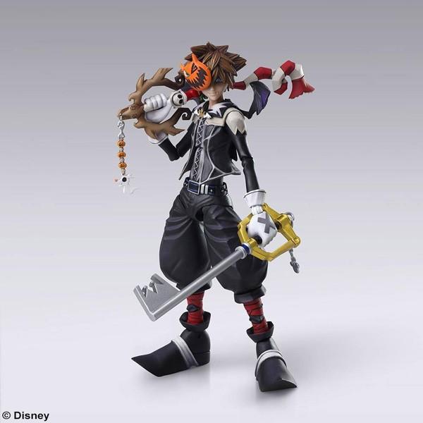 Kingdom Hearts II: Sora Halloween Town Ver. Play Arts Actionfigur