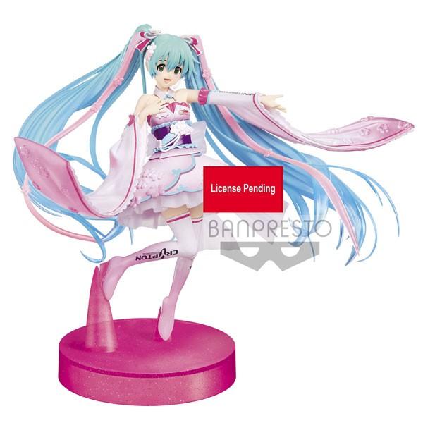 Vocaloid 2: Racing Miku Espresto Kimono Ver. non Scale PVC Statue