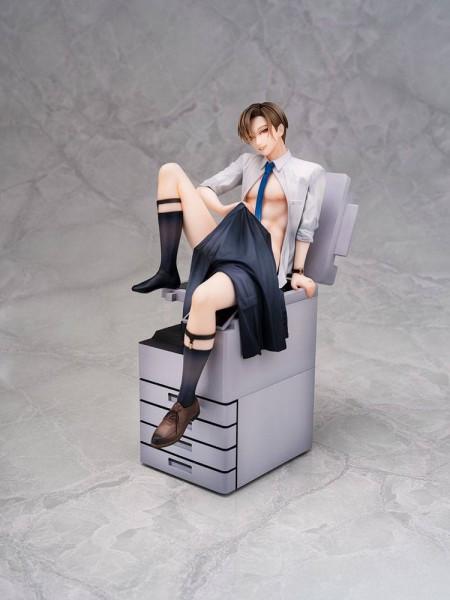 Original Character Salary Man Makoto Niizuma 1/8 Scale PVC Statue
