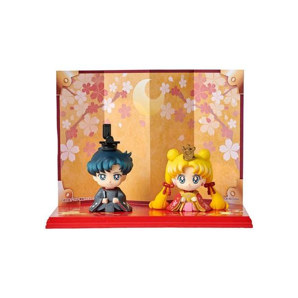 Sailor Moon: Hinamatsuri Usagi & Mamoru 2er-Set Minifiguren