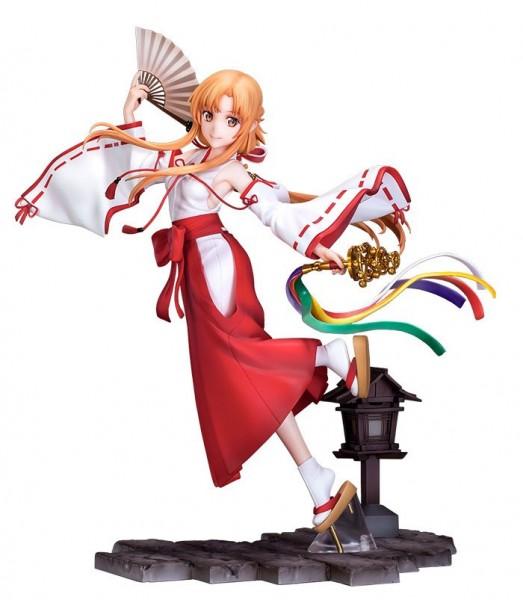 Sword Art Online Alicization - War of Underworld: Asuna Miko Ver. 1/7 Scale PVC Statue