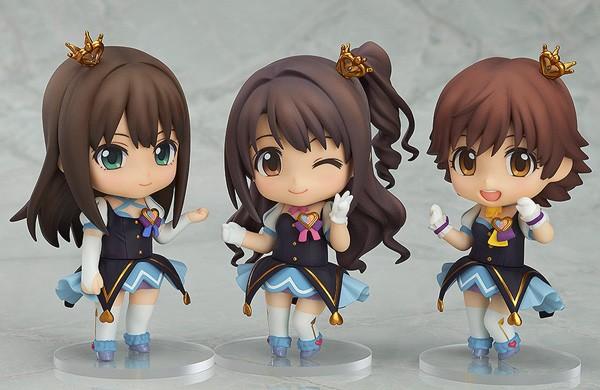 The IDOLM@STER Cinderella Girls: Nendoroid Co-de Rin/Uzuki/Mio Set