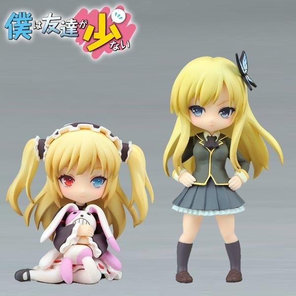 Boku wa Tomodachi ga Sukunai: Twin Pack - Sena Kashiwazaki& Kobato Hasegawa non Scale PVC Statue