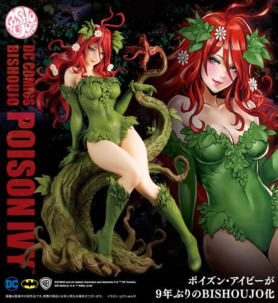 DC Comics: Poison Ivy Bishoujo 1/7 Scale PVC Statue-Copy
