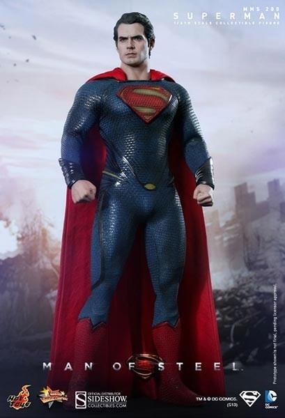 Man of Steel: Superman Movie Masterpiece 1/6 Actionfigur