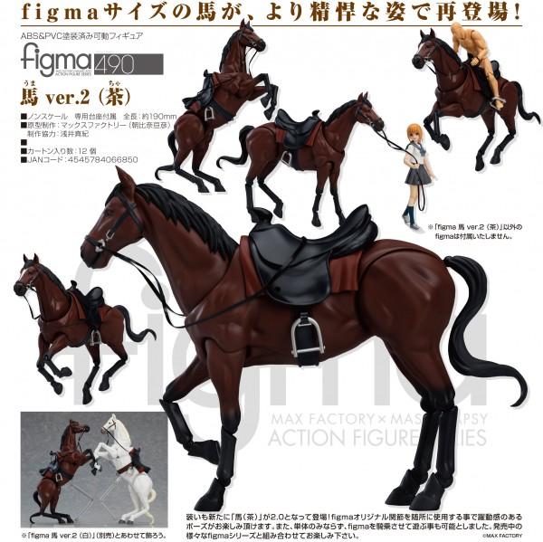Original Character: Horse ver. 2 (Chestnut) - Figma