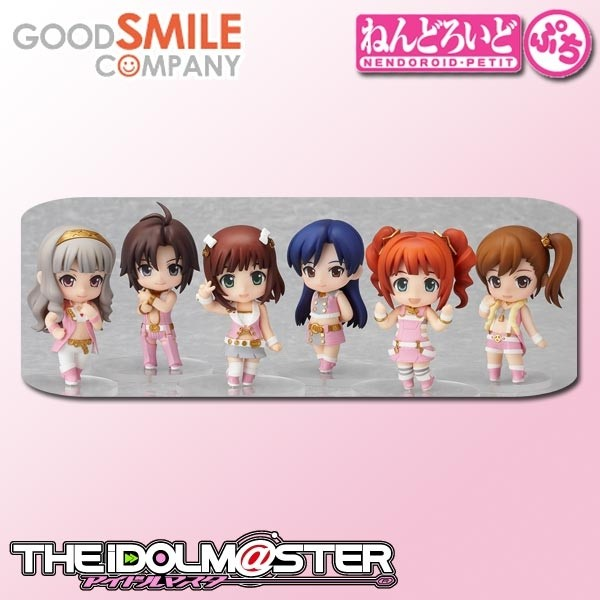 The Idolm@ster 2: Stage 01 Petit Nendoroid 1 Box (8pcs)