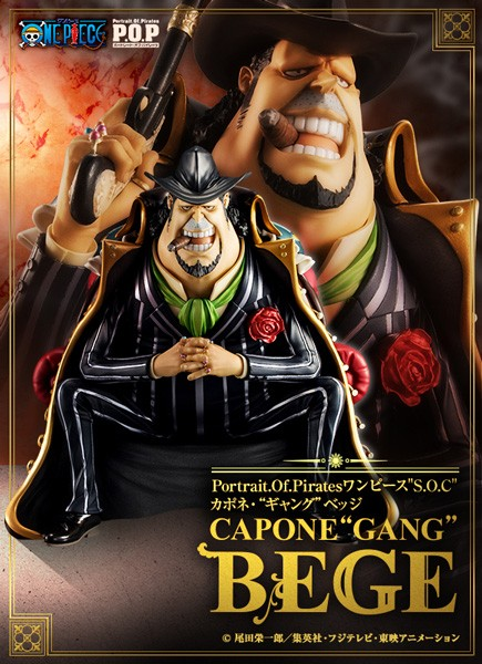 One Piece: P.O.P. Capone Gang Bege 1/8 Scale PVC Statue