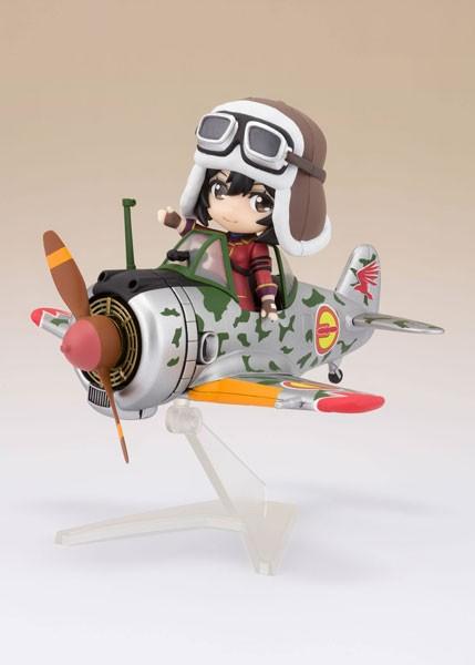 The Kotobuki Squadron in The Wilderness: Kylie & Hayabusa Figuarts mini Action Figure