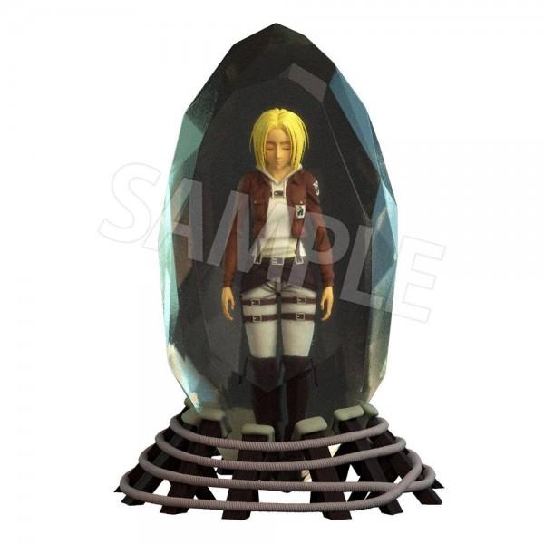 Shingeki no Kyojin: Annie Leonhart 3D Crystal non Scale PVC Statue