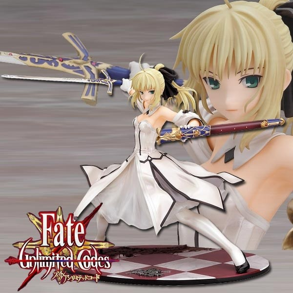 Fate/Unlimited Codes: Saber Lily - Golden Caliburn 1/7 PVC Statue