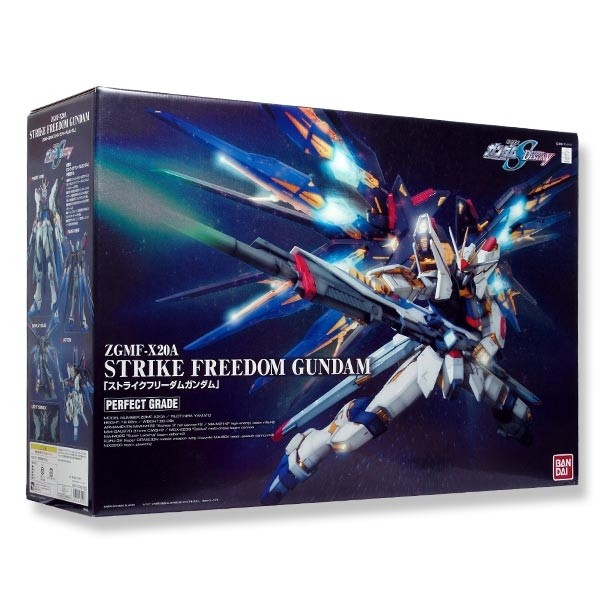 Gundam Seed Destiny - PG Perfect Grade Strike Freedom Gundam 1/60