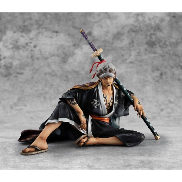 One Piece: P.O.P. Warriors Alliance Trafalgar Law 1/8 Scale PVC Statue