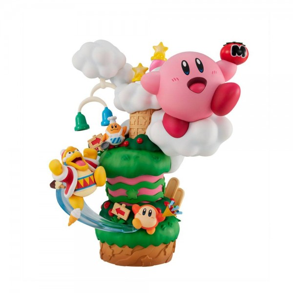 Kirby: Kirby Super Star Gourmet Race non Scale PVC Statue