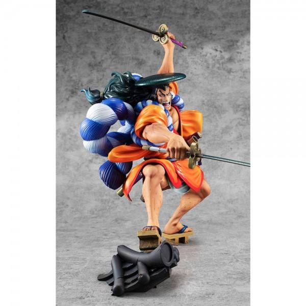 One Piece: P.O.P. Warriors Alliance Oden Koduki 1/8 Scale PVC Statue
