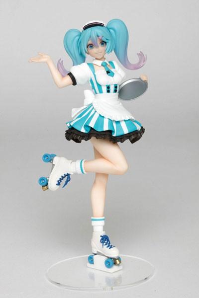Vocaloid 2: Miku Hatsune Cafe Maid Ver.non Scale PVC Statue