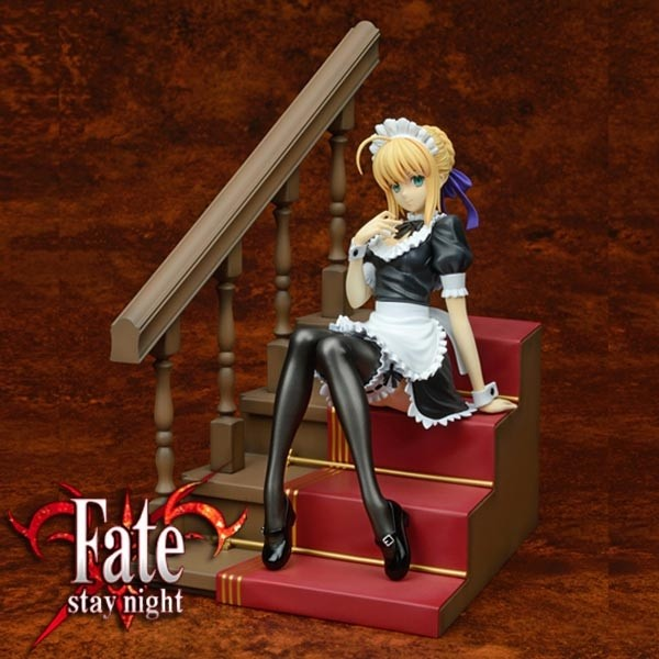 Fate/stay night: Saber Delusion Maid Ver. 1/7 PVC Statue