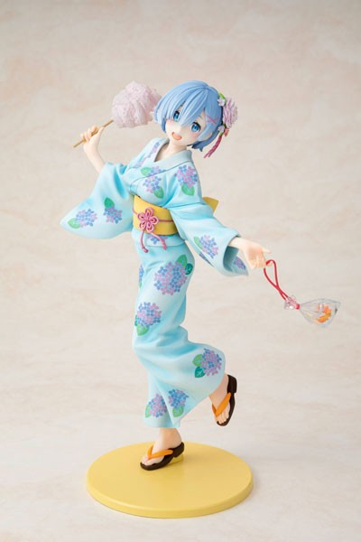 Re:ZERO -Starting Life in Another World: Rem Yukata Ver. Repaint 1/8 Scale PVC Statue