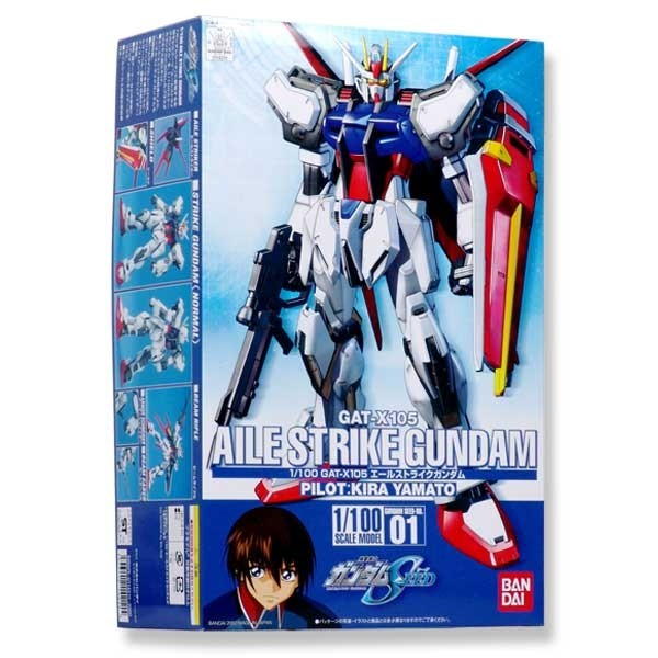 Gundam Seed - Aile Strike Gundam 1/100