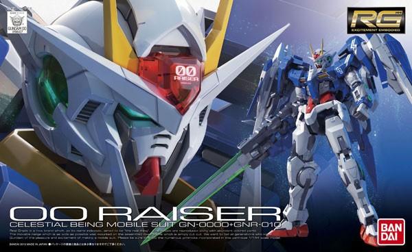 Gundam - RG GN-0000+GNR-010 OO Raiser 1/144