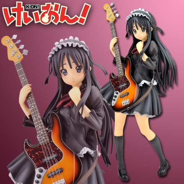 K-ON!: Mio Akiyama School Festival Version 1/8 Scale PVC Statue