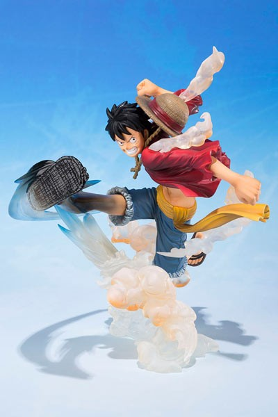 One Piece: Figuarts Zero Monkey D. Luffy Gum Gum Hawk Whip non Scale PVC Statue