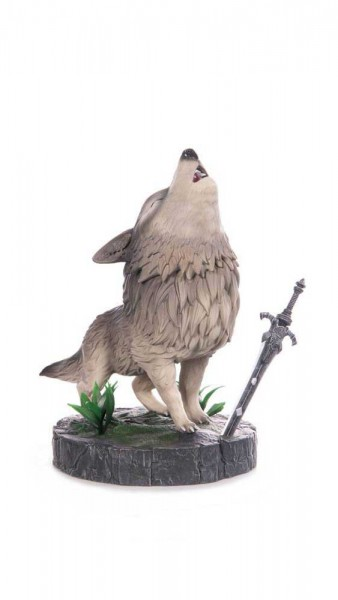 Dark Souls: The Great Grey Wolf Sif non Scale Statue