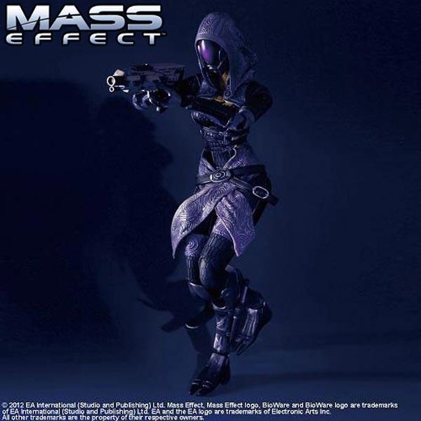 Mass Effect 3: Play Arts Kai Tali'Zorah vas Normandy Action Figure