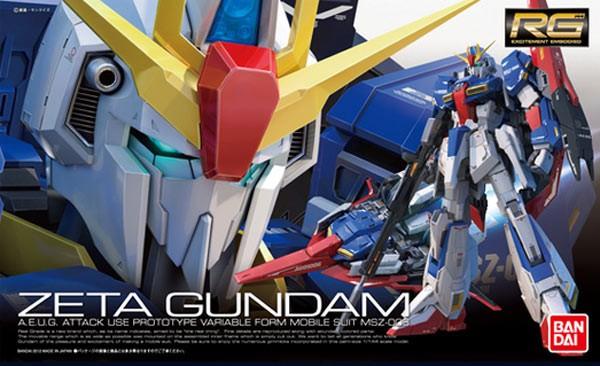 Gundam - RG Zeta Gundas 1/144