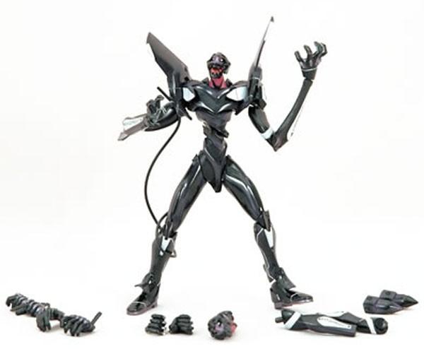 EVA Unit 03 Black Action Figur Lunch Tube