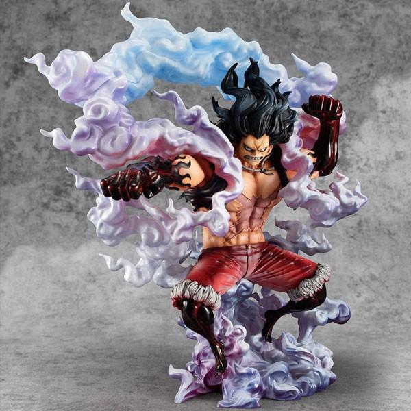 One Piece: P.O.P. SA Maximum Monkey D. Ruffy Gear 4 Snake Man 1/8 Scale PVC Statue