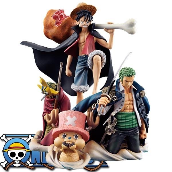 One Piece: Desktop Real McCoy Vol. 1 PVC Diorama