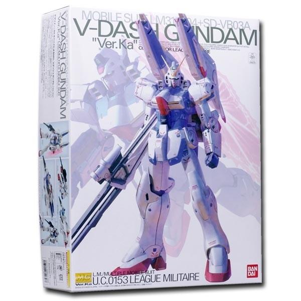 V Gundam - MG V Dash Gundam Ver. Ka 1/100