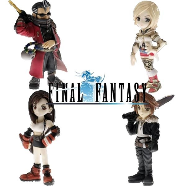 Final Fantasy Series - Trading Arts Mini Vol.2
