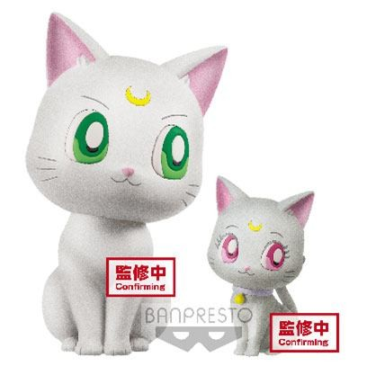 Sailor Moon Eternal The Movie Fluffy Puffy: Artemis & Diana non Scale PVC Minifigur