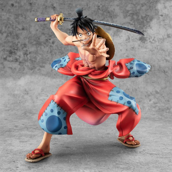 One Piece: P.O.P. Warriors Alliance Ruffy Taro 1/8 Scale PVC Statue