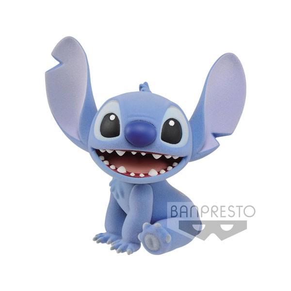Disney Cute Fluffy Puffy: Stitch non Scale PVC Minifigur