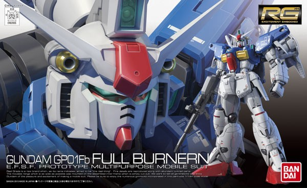 Gundam 0083 - RG RX-78GP01Fb Gundam GP01 Full-Burnern 1/144