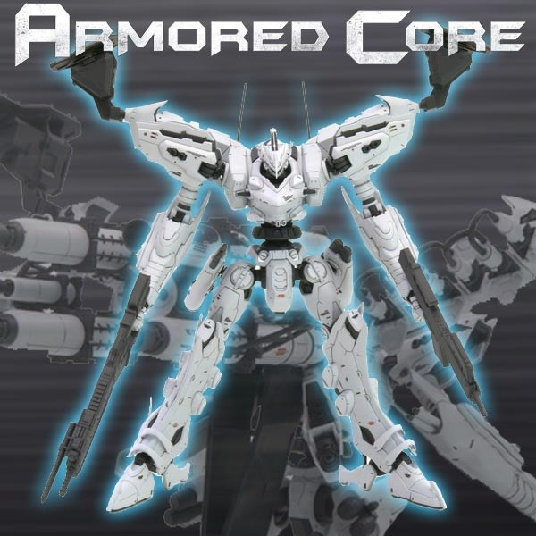 Armored Core - White Glint Movie Color Ver. 1/72 Model-Kit