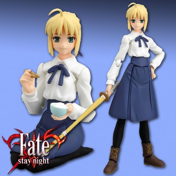 Fate/stay night: Saber Normal clothes ver. - Figma