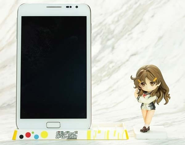 Vivid Red Operation: Himawari Shinomiya Smart Phone Stand Figure